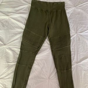 Nordstrom Army Green Leggings